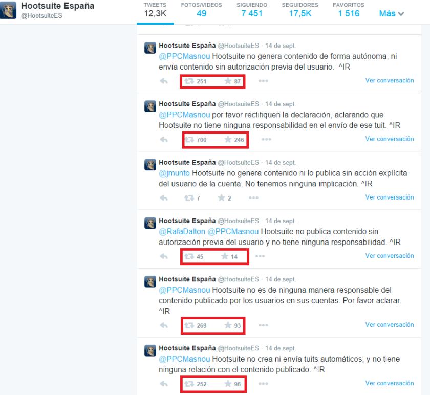 Hootsuite amplifica crisi Tuit PP