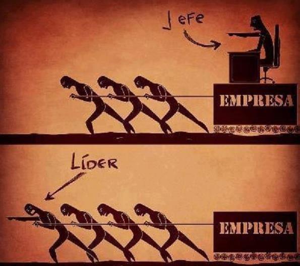 Diferencia lider y jefe