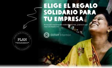 Regala cestas de navidad Oxfam Itermón